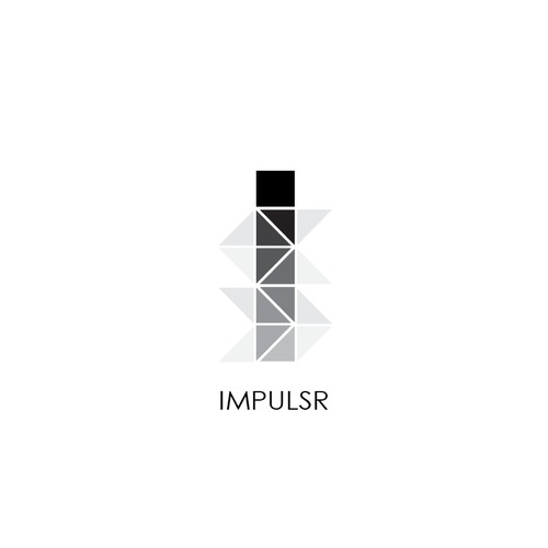 Minimalist icon or button design for Impulsr.net