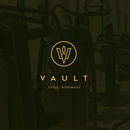 Fitness studio logo
