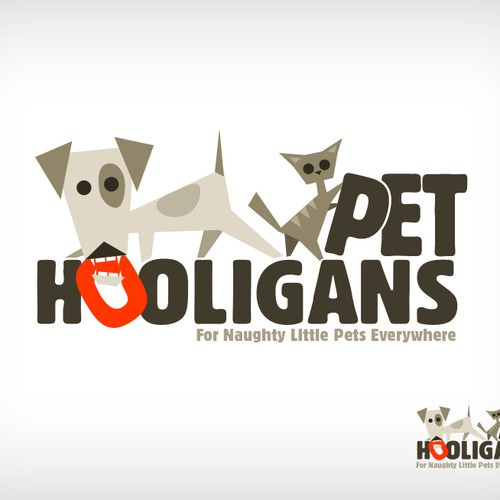 Help Pet Hooligans with a new logo
