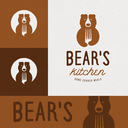Bear logo for Bears Kitchen