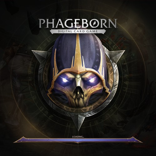Phageborn New Logo and Game Icon design