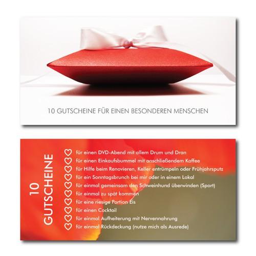 Ideenwelt / Geschenkeladen benötigt eine Gutscheinkarte