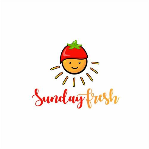youthful logo for sunday fresh