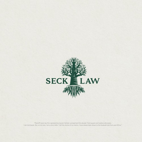 Logo fir Seck Law