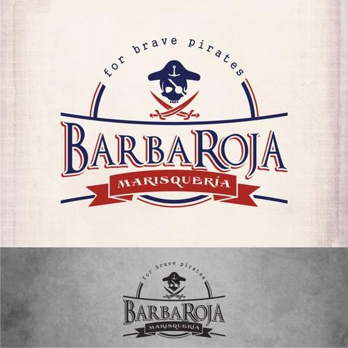 BarbaRoja Marisquería needs a new logo