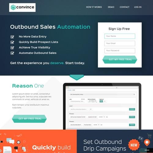 Website Design for software