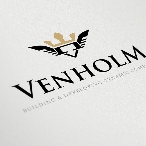 Create the next logo for VENHOLM