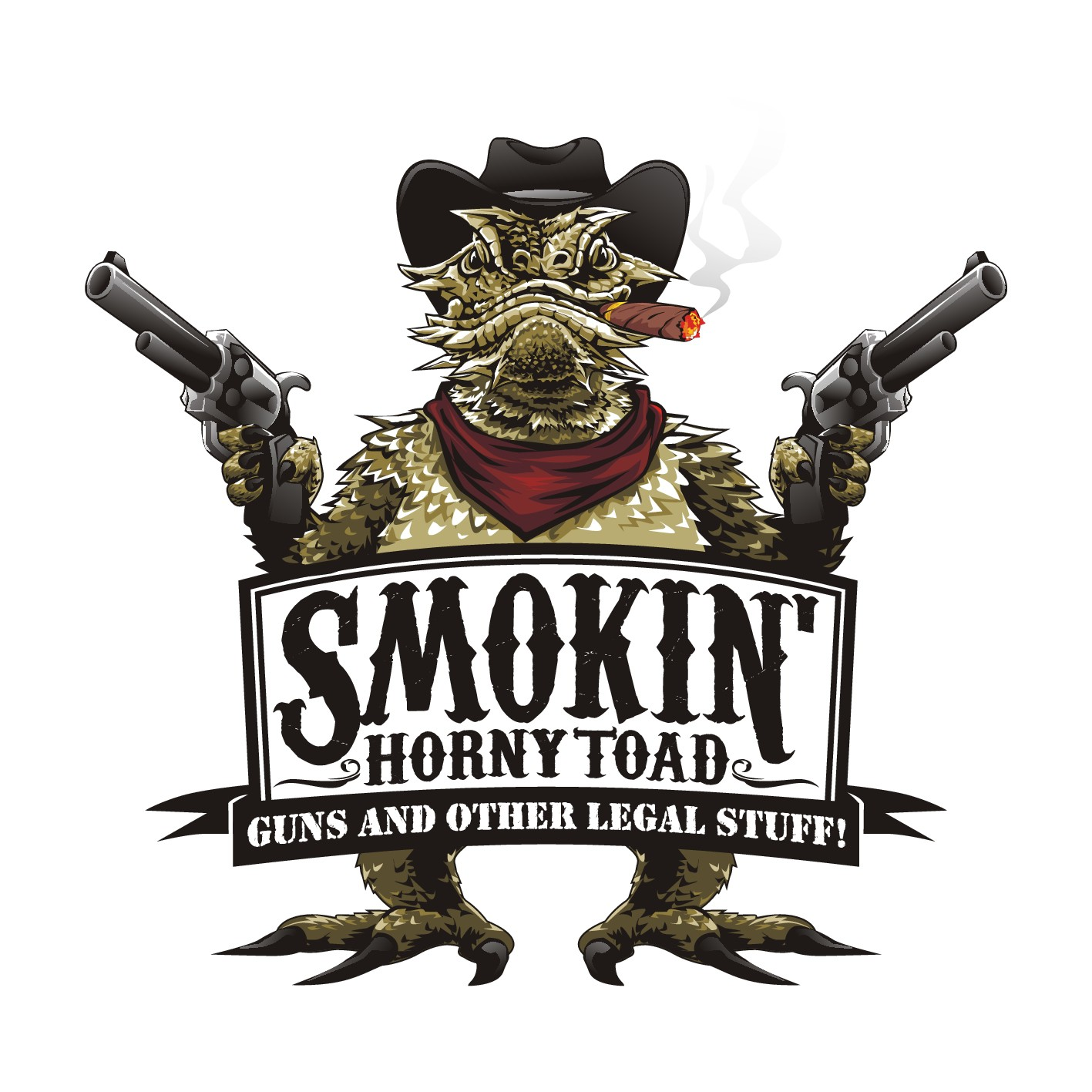 Smokin' Horny Toad Logo Design Shootout!!