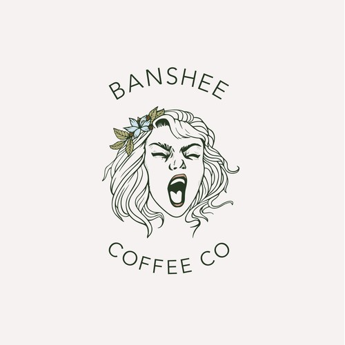 Handdrawn Coffee Logo