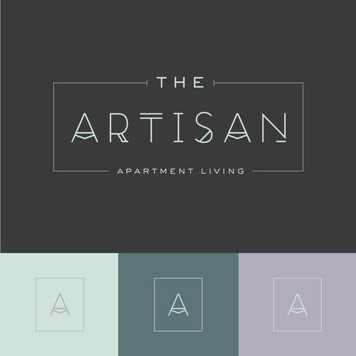 Logo concept for luxury apartment complex