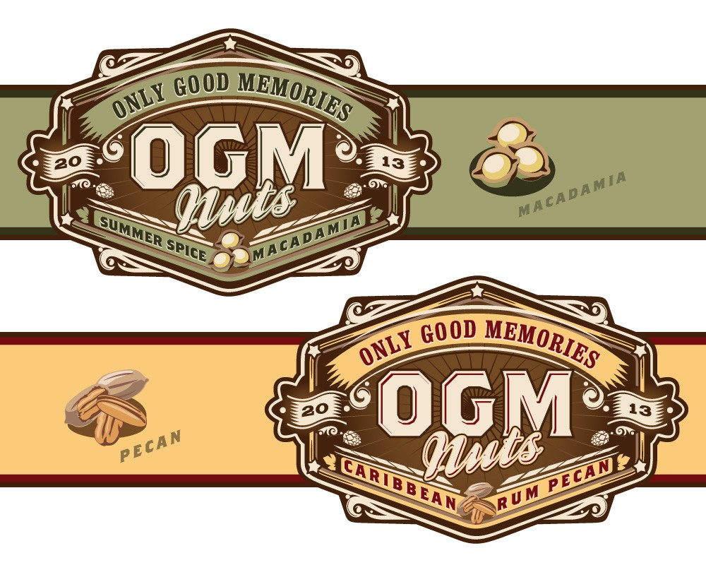 Help O.G.M. Nuts with a new logo