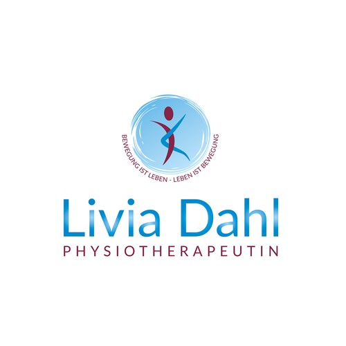 Logo concept for a physiotherapist