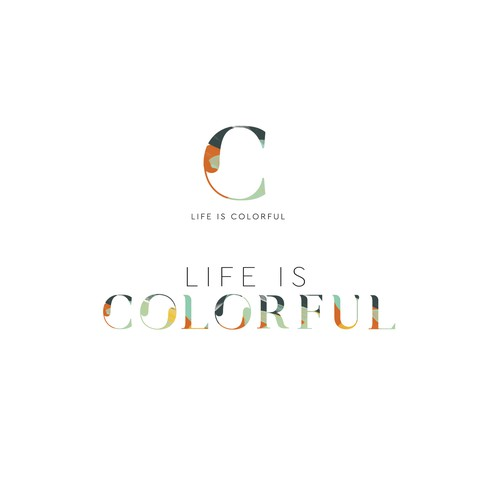 Logo design for LIFE IS COLORFUL