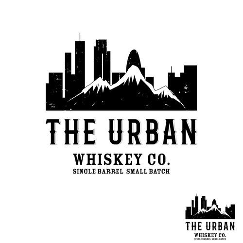 Classic logo for Urban Whiskey