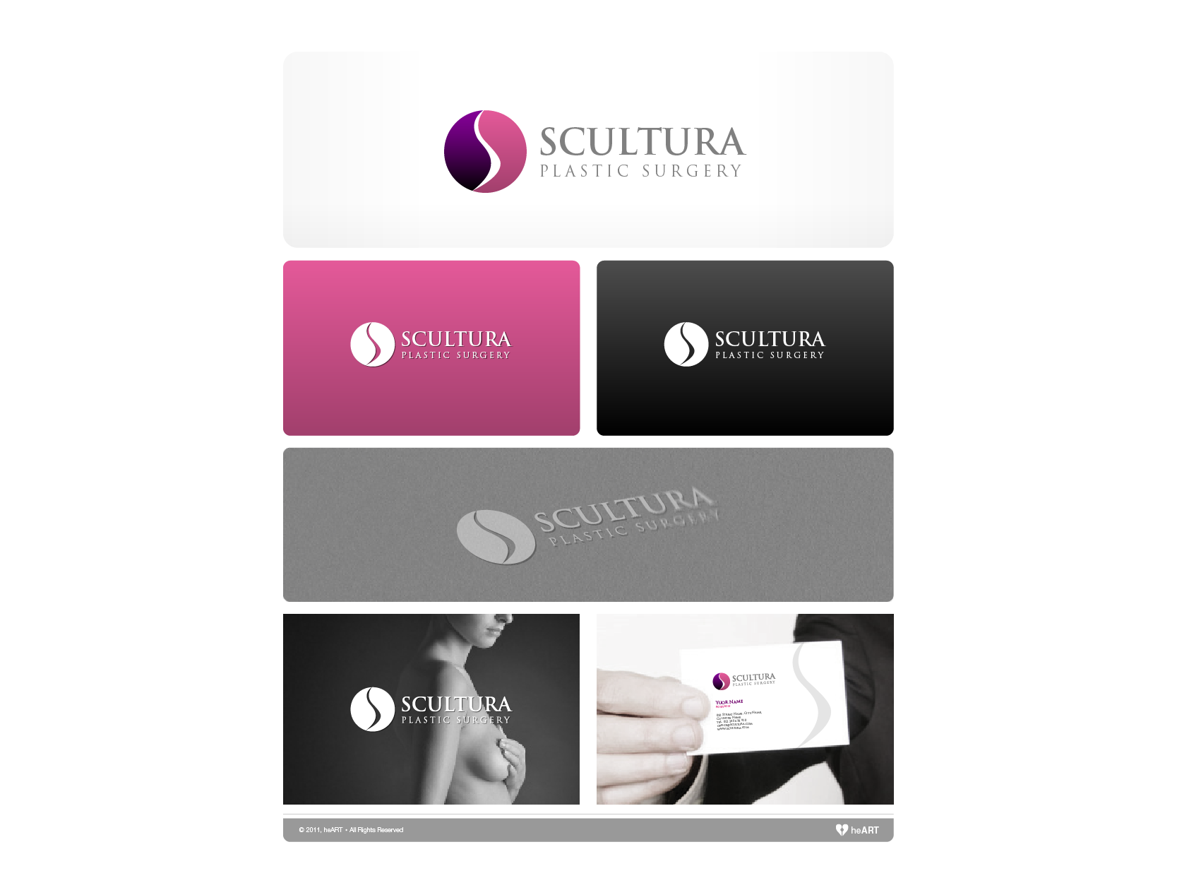 Help Scultura Plastic Surgery with a new logo