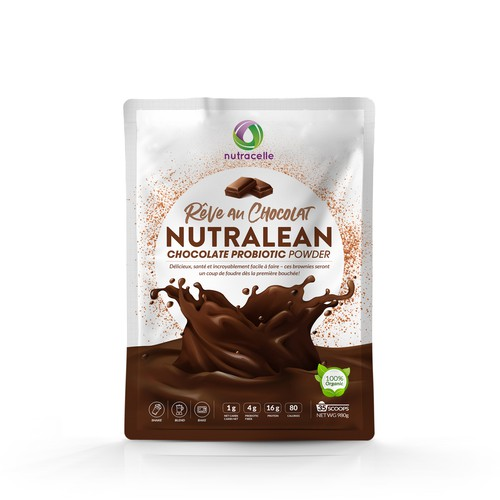 Packaging for Prebiotic Protein Powder