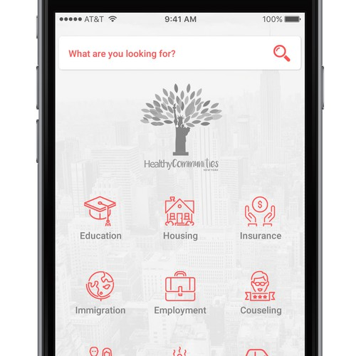 App for Social Services in NYC