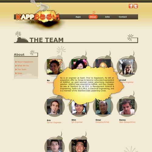 Mobile App & Game Developer Website