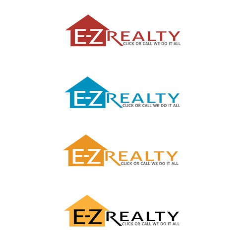 "Create a great logo for E-Z Realty, for a ""we buy houses"" signs and website"