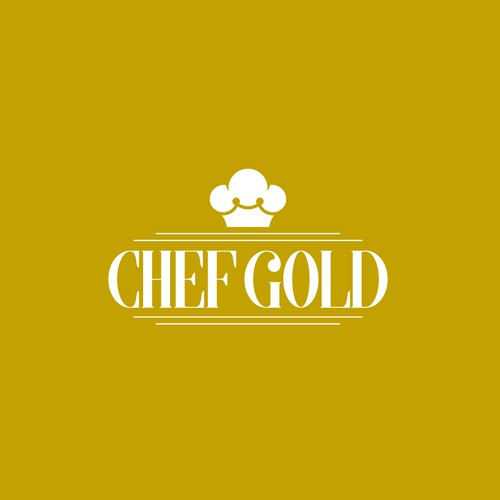 Creative logo for Chef Gold.