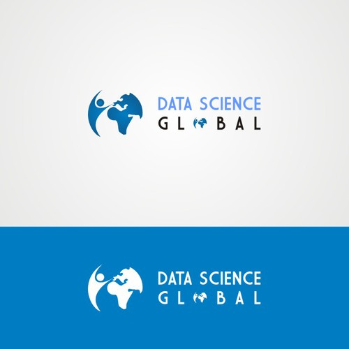 Data Science Global Logo Concept