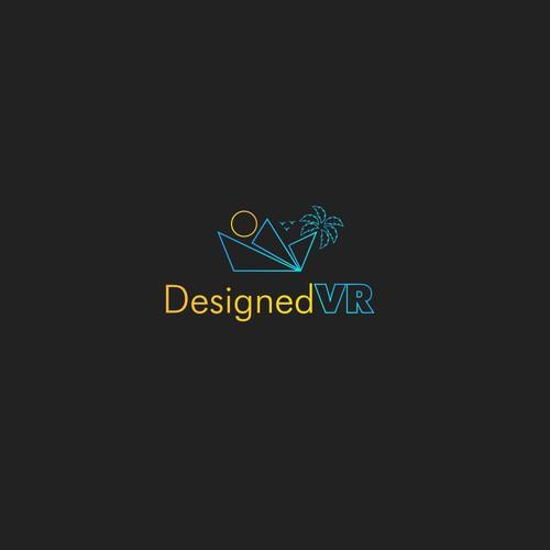 Designed VR Logo Design.