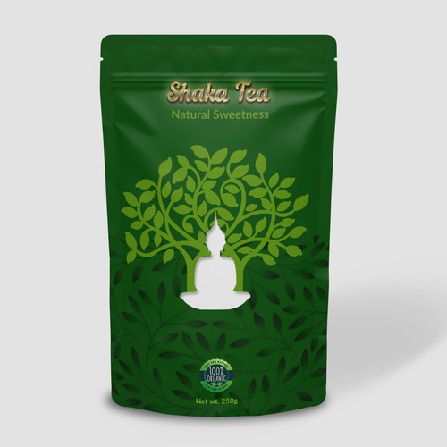 Traditional Tea package design