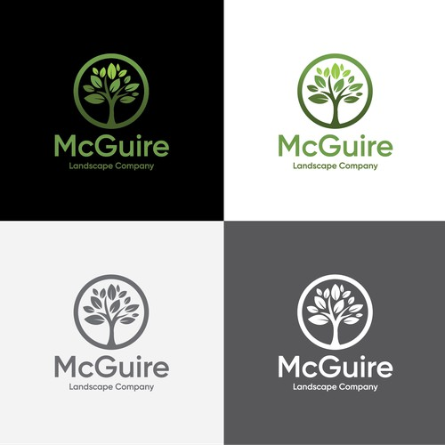 Brand Identity for McGuire Landscape Company