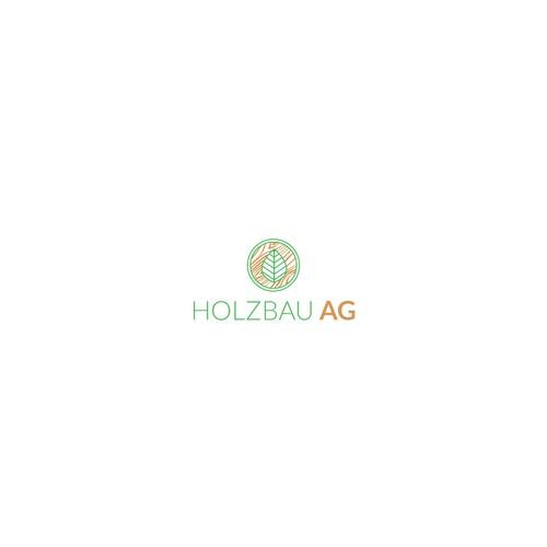 Logo concept for Holzbau AG