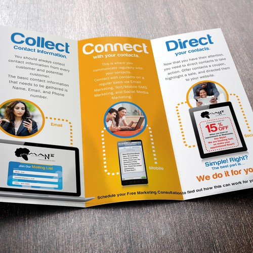 New brochure design wanted for LocalMagnifier.com