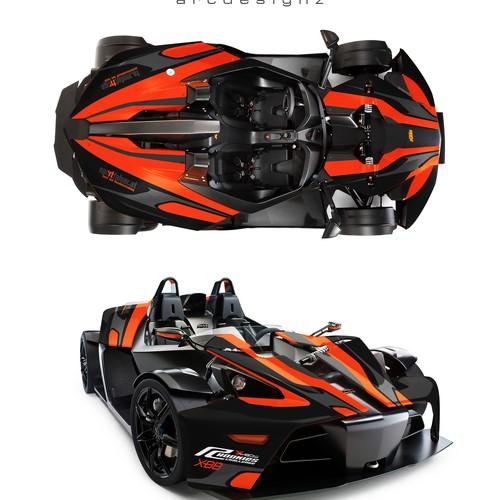 KTM X bow wrap
