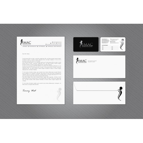 Imac stationery design