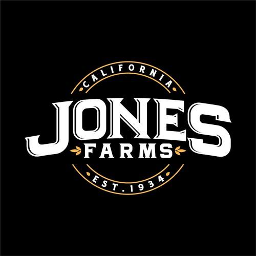 Logo design for Jones Farms