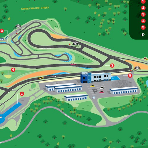 Motorsports Complex Needs Park Map
