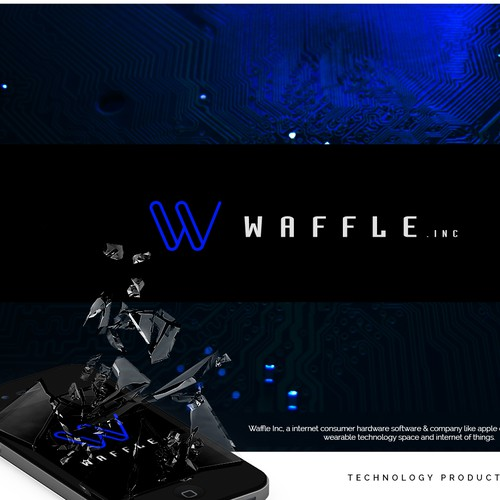 "Logo proposal for ""Waffle .Inc"""