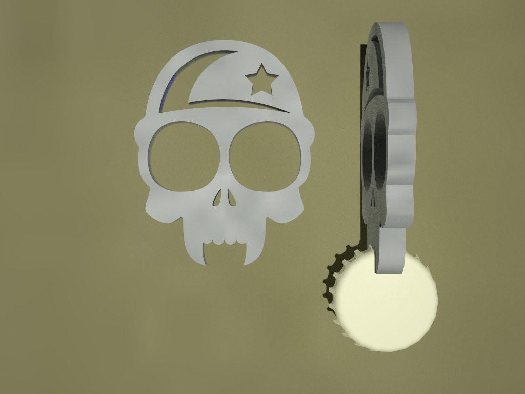 One of a Kind Self Defense Keychain