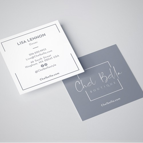Chelbella.com Business Card