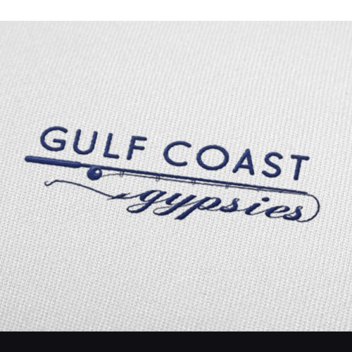 Logo for Coastal Themed Apparel company