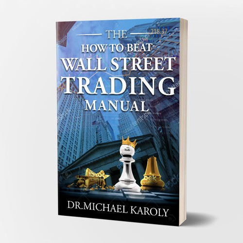 Book cover design where the little guy can beat Wall Street