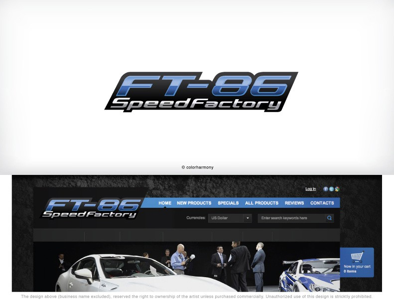 Help FT-86 SpeedFactory with a new logo