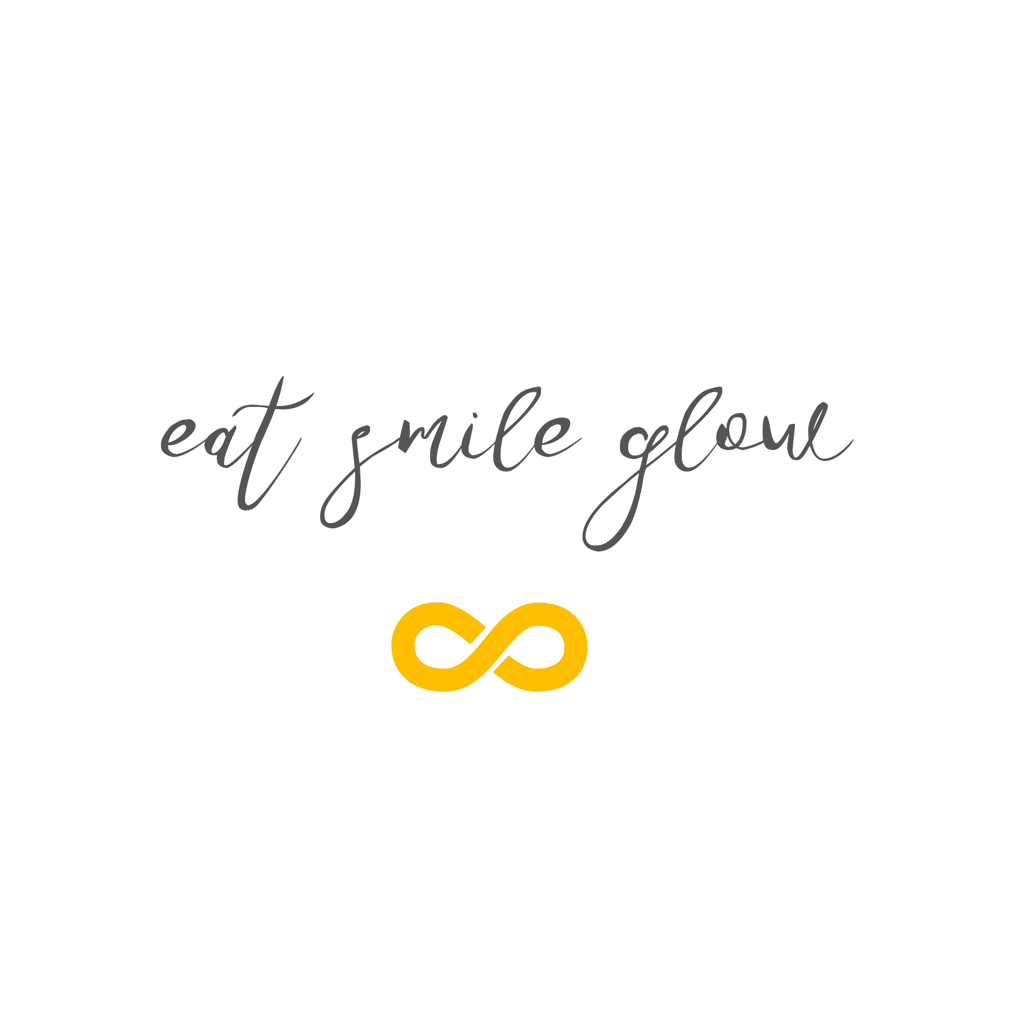 Design a logo for Eat Smile Glow a lifestyle, wellness and beauty business