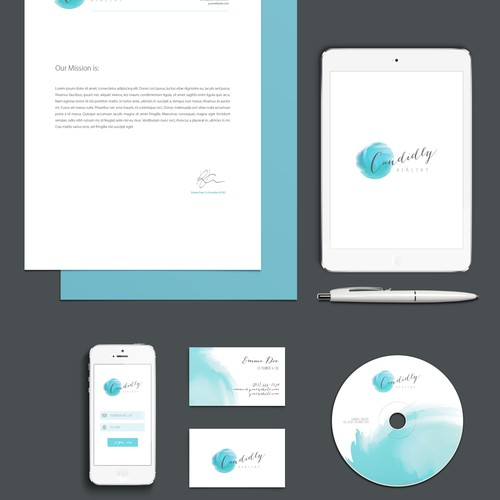 Design a young and vibrant logo for lifestyle website Candidly Healthy