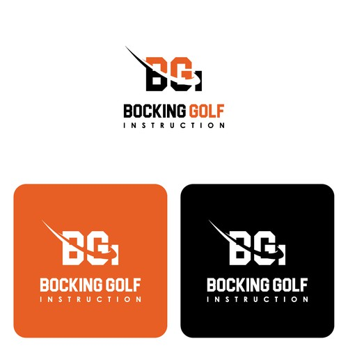 monogram logo concept for BGI