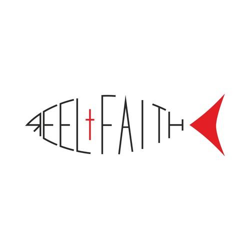 Logo for reel faith