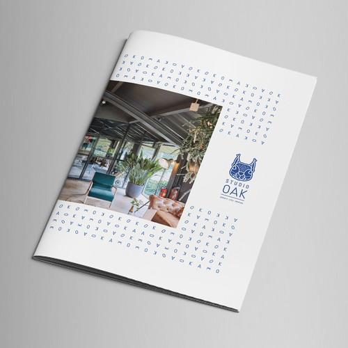 Cool Brochure for Studio Oak