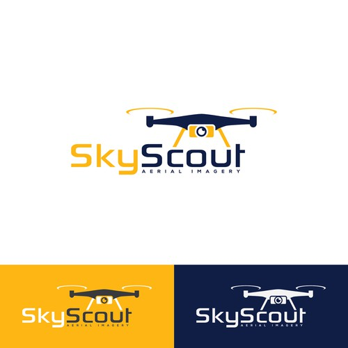 My drone aerial imagery business needs an uplifting logo!