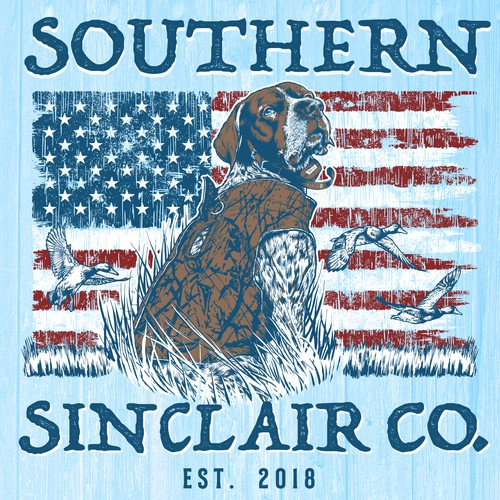 T-shirt design for Southern Sinclair Co.