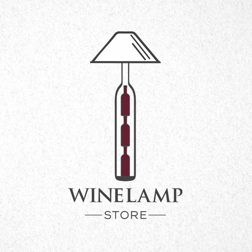 Wine Lamp Store Logo!  needs a unique logo for its online store!