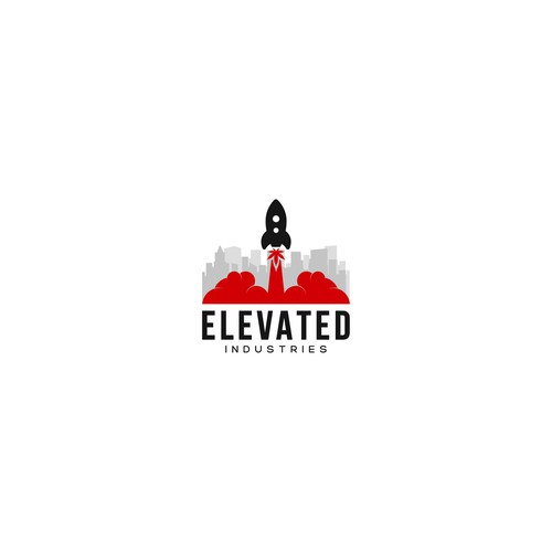 """Elevated logo for """"ELEVATED"""" industry."""