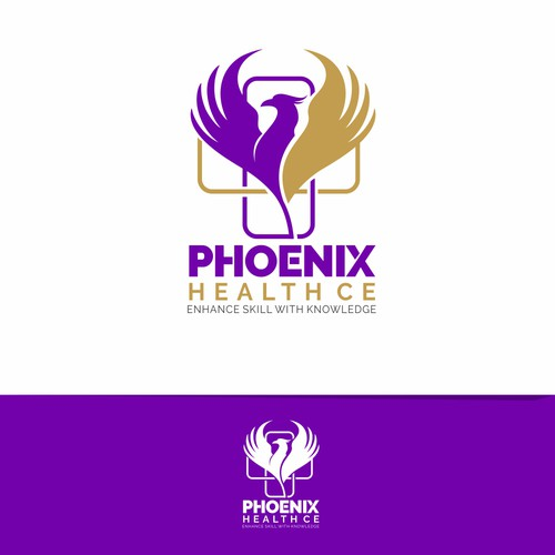 Phoenix Health CE logo concept